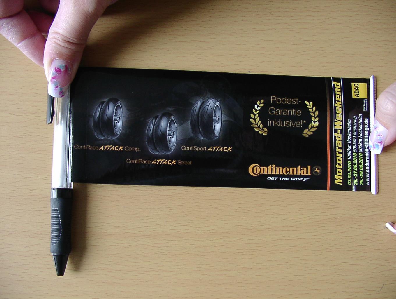 ausziehbarer Kugelschreiber, Kugelschreiber, Ball pen, Flaggenstift, Flagpen, Bannerpen
