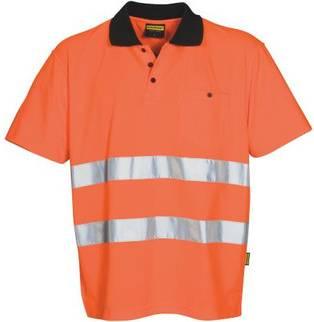 Poloshirt- Sicherheit individuell und kundenspezifisch mit Werbeanbringung als Werbegeschenk oder Werbeartikel für Firmen und Unternehmen